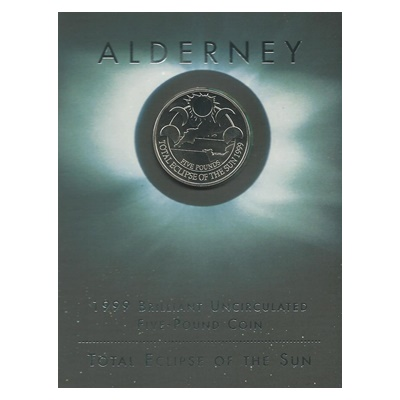 1999 BU £5 Coin - Total Eclipse of the Sun